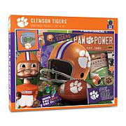Officially Licensed NCAA Retro 500-Piece Puzzle
