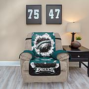 Officially Licensed NFLRecliner Protector with 3D Design