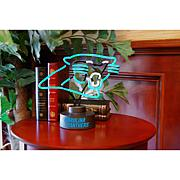 Officially Licensed NFL Team Logo Neon Lamp - Panthers