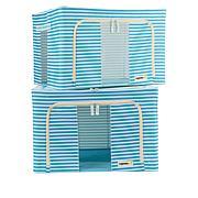 OrganizeMe Medium Collapsible Storage Bins 2-pack