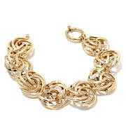 "Passport to Gold 14K ""Love Knot"" 8"" Bracelet"
