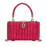 Patricia Nash Ayora Wicker Frame Bag