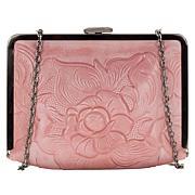 Patricia Nash Cariati Tooled Leather Clutch