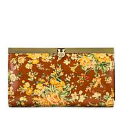 Patricia Nash Cauchy Leather Frame Wallet