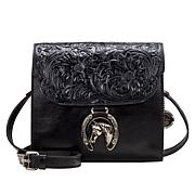 Patricia Nash Dante Leather Petite Crossbody Bag