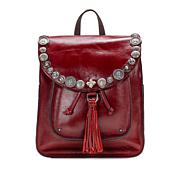 Patricia Nash Jovanna Renaissance Coin Leather Backpack