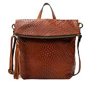 Patricia Nash Luzille Woven Leather Backpack