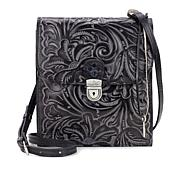 Patricia Nash Rossano Leather Crossbody Organizer