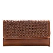 Patricia Nash Terresa Woven Leather Signature Wallet