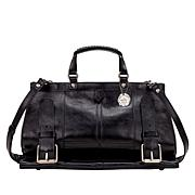 Patricia Nash Trento Buckled Leather Satchel