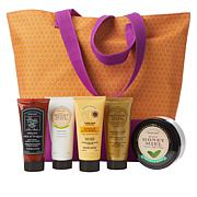 Perlier Honey 5-piece Hand Cream Set with Tote Bag
