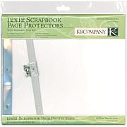 Postbound Page Protectors - 10-pack of White Inserts