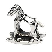 Prerogatives Sterling Silver Rocking Horse Bead