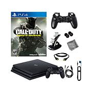 """PS4 Pro 1TB Console w/""""Call of Duty Infinite""""+ Kit"""