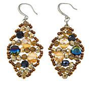 Rara Avis by Iris Apfel Multicolor Bead Marquise Drop Earrings