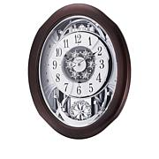 RHYTHM Anthology Espresso Musical Clock