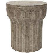 Safavieh Vesta Concrete Accent Table - Gray