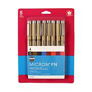 Sakura Pigma Micron PN Pen Assorted Set of 8