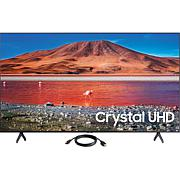 Samsung TU7000 Crystal UHD 4K Smart TV (2020) with HDMI Cable