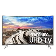 "Samsung 55"" MU8500 4K Ultra HD LED Curved Smart TV w/One Connect Mini"