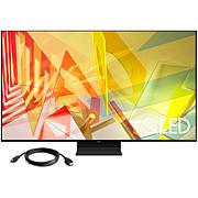 """Samsung 55"""" Q90T QLED 4K UHD HDR Smart TV (2020) with HMDI Cable"""