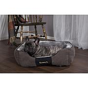 Scruffs Chester Box Dog Bed - Large - Graphite Grey