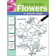 "Search Press Books ""How To Draw: Flowers"""