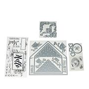 Sizzix Envelope Stamps and Dies by Katelyn Lizardi