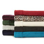 Soft & Cozy 4-piece Plush Full Sheet Set