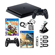 Sony PlayStation 4 PS4 1TB Console with 2 Games & 9pc Starter Kit