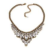 "Sorrelli Jewelry Clear Crystal 15"" Bib Necklace"