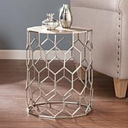 Southern Enterprises Mendie Metal Accent Table