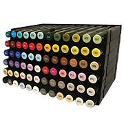 Spectrum Noir Marker Storage Trays Black 6/Pkg - Empty - Holds 72