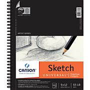 "Spiral Sketch Book 9"" x 12"" - 100 Sheets"
