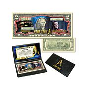 Star Trek 50th Anniversary $2 Bill - Scotty