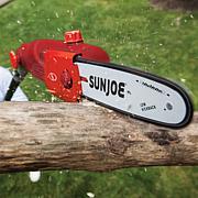 "Sun Joe 10"" 8 Amp Electric Pole Chain Saw"