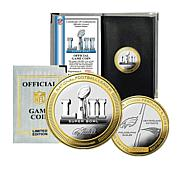 Super Bowl LII Official Two-Tone Flip Coin by The Highland Mint