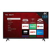 "TCL 4-Series 43"" 4K Ultra HD Roku Smart TV w/HDMI Cable- 2-yr warranty"
