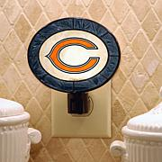 Team Glass Nightlight - Chicago Bears