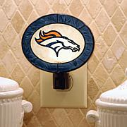 Team Glass Nightlight - Denver Broncos