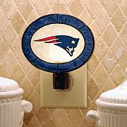 Team Glass Nightlight - New England Patriots