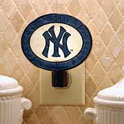 Team Glass Nightlight - New York Yankees