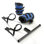 Teeter EZ-Up Gravity Boots with Converter Bar