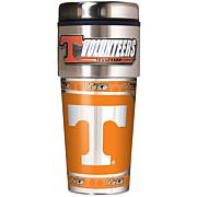 Tennessee Volunteers Travel Tumbler w/ Metallic Graphics and Team Logo