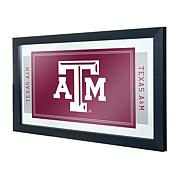 Texas A&M University Logo and Mascot Framed Mirror