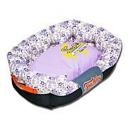 Touchdog Floral-Galore Rectangular Rounded Designer Dog Bed