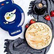 Uncanny Brands Star Wars The Mandalorian The Child Waffle Maker