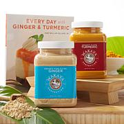 Wakaya Perfection Organic Ginger & Turmeric 1lb Set