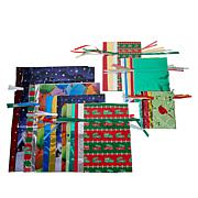 Winter Lane 56-piece All Occasion Gift Bags and Tags Set