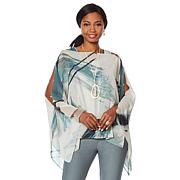 WynneLayers Convertible Chiffon Poncho